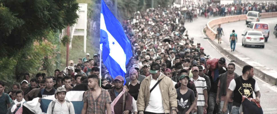 Honduras: The migrant caravan that challenges Trump