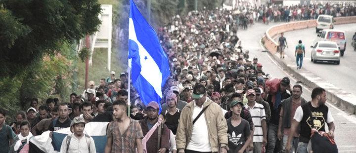 Honduras: The migrant caravan that challenges Trump