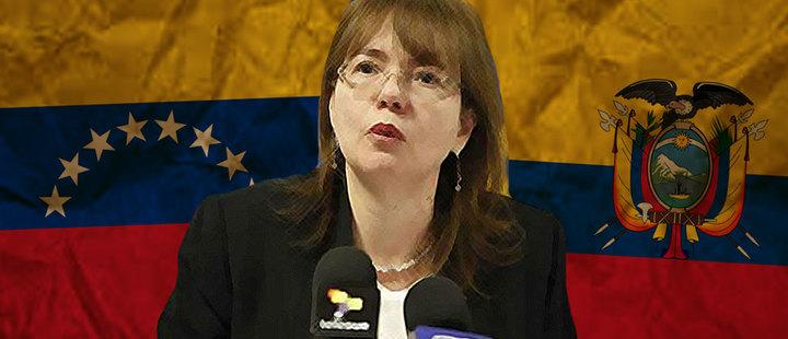 ¿Por qué la embajadora venezolana fue expulsada de Ecuador?