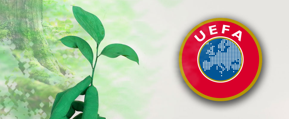 What does UEFA do to take care of the environment?