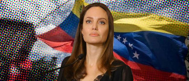 acnur envia a angelina jolie a peru refugiados venezolanos