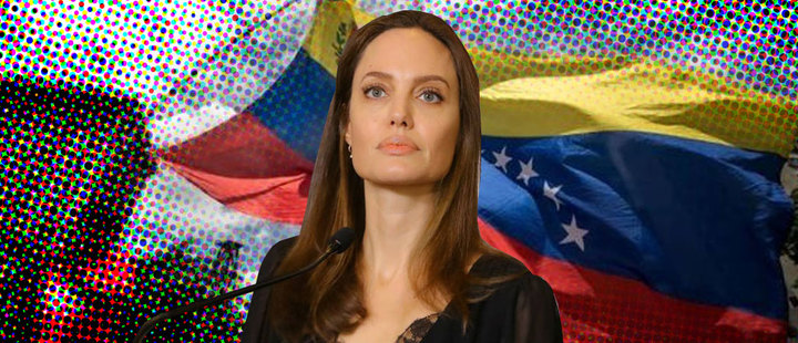 """""""We must recognize that the crisis in Venezuela was predictable and avoidable"""": Angelina Jolie"""