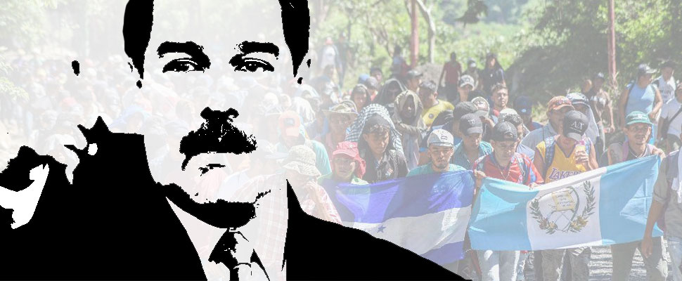 Hypocrisy? Maduro shows solidarity to Honduran migrants