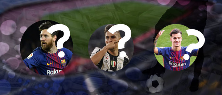 Los futbolistas latinoamericanos más caros: ¿Messi todavía lidera?