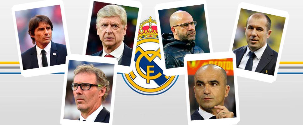 Estos son los 10 técnicos que podrían dirigir al Real Madrid