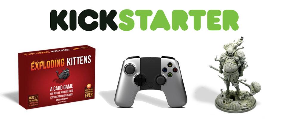 Los 6 Kickstarters más grandes de la historia: ¿Qué fue de ellos?