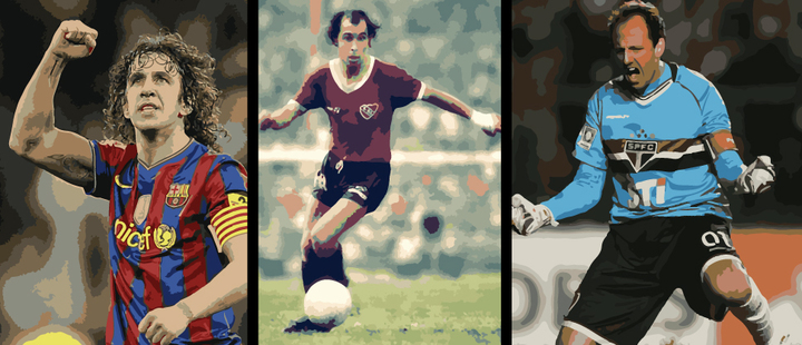 That's love for a shirt! 5 players who never changed teams