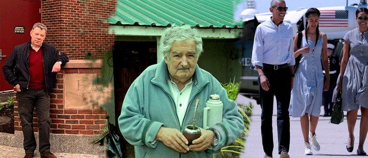Santos, Mujica y Obama: la vida después de la presidencia