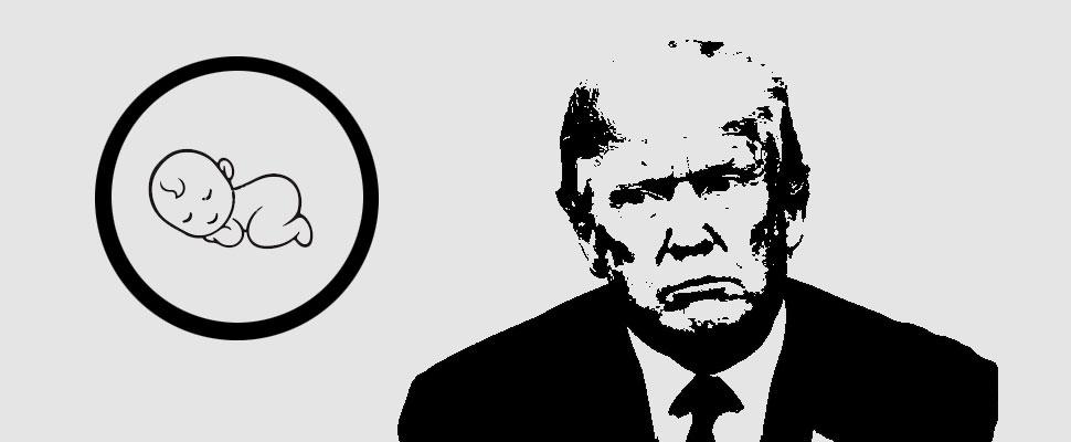 Donald Trump: ¿Adiós al derecho de nacimiento?