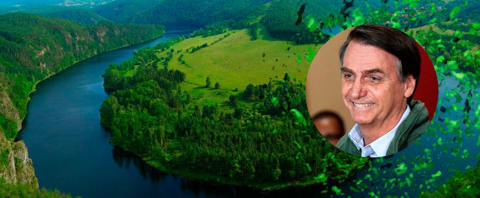 La Amazonía tiembla con Bolsonaro