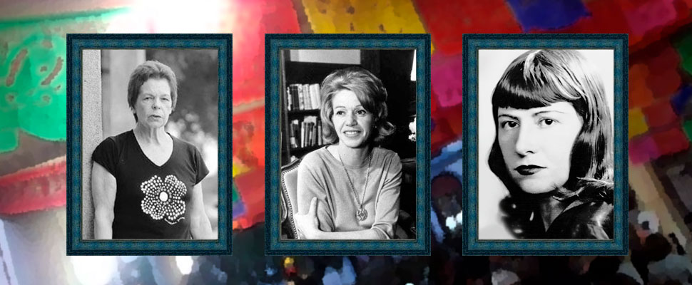 An altar of the dead to honor these three Latin writers