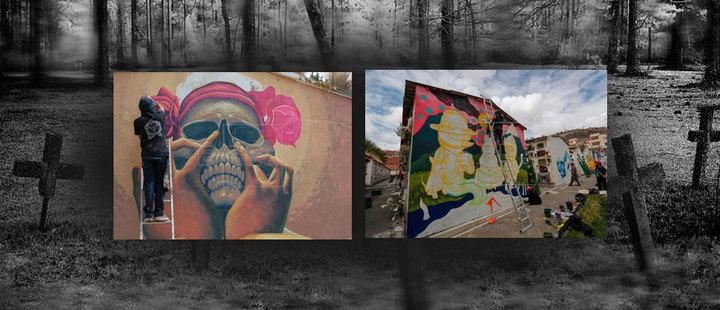 Bolivia: Art also celebrates the dead
