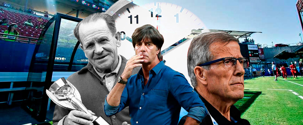 Do you know which are the technical directors that have lasted the longest in a football selection?