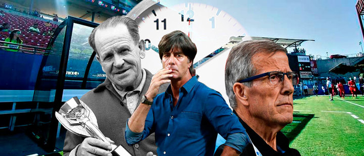 These are the 3 technical directors that have lasted the longest in a football selection