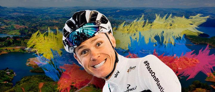 Así es como Chris Froome disfruta de su visita por Colombia