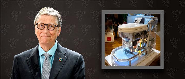 Bill Gates: De fundador de Microsoft a magnate de inodoros