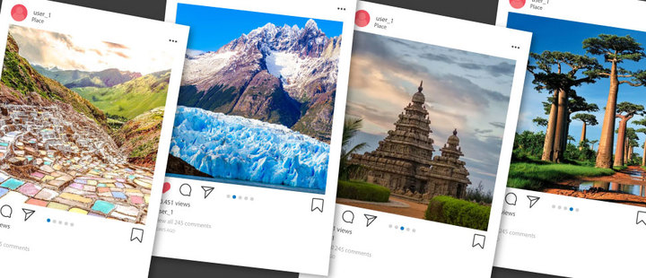 Top 5 destinations to show off on Instagram