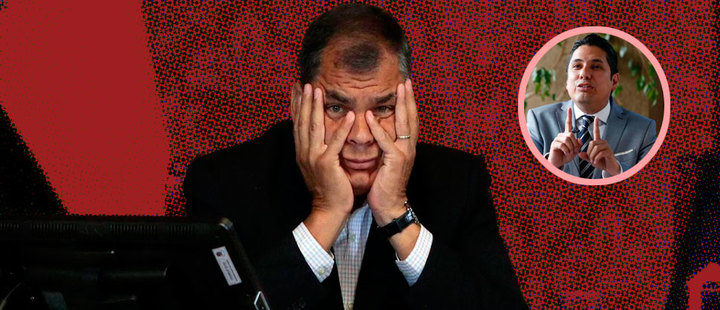 Ecuador: Rafael Correa prófugo de la justicia