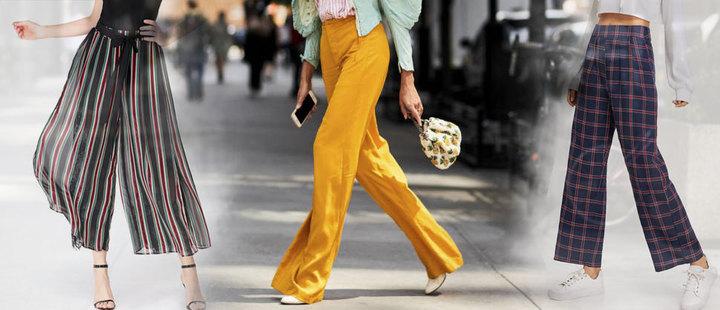 Desempolva tus pantalones anchos y ponte a la moda