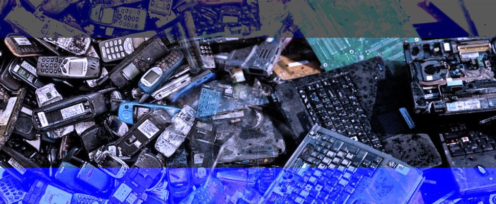¿Qué debo hacer con mi basura electrónica?
