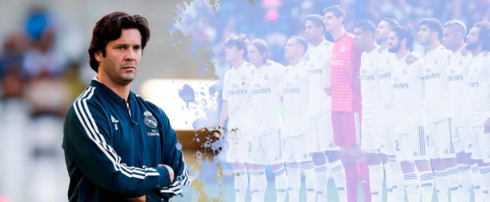 Solari no resistiría a más de dos crisis en el Real Madrid