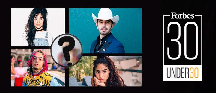 6 latinos que aparecen en la lista de Forbes 30 under 30