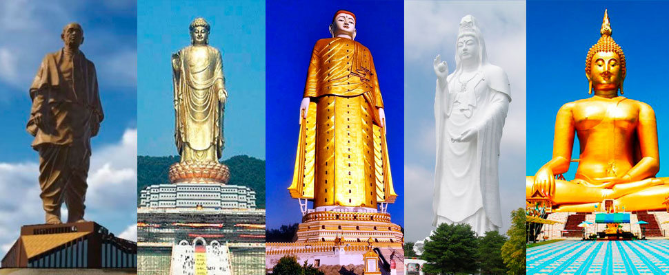 Have fun in the sky with these 10 incredible statues
