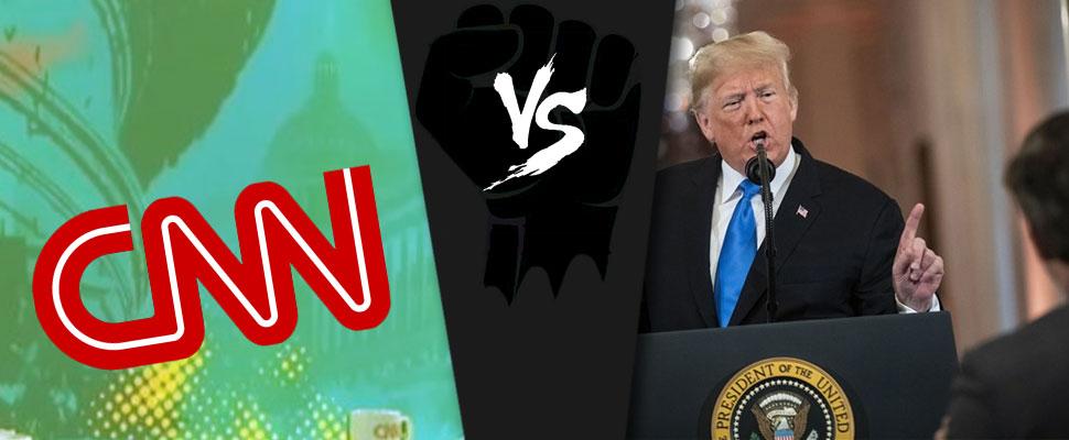 Periodismo vs Trump: CNN gana el primer round