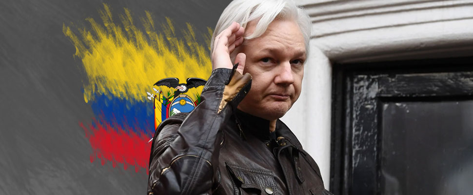 Julian Assange: Ecuador will no longer subsidize the founder of WikiLeaks