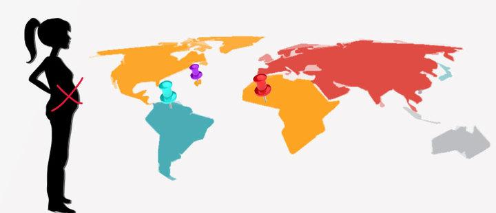 3 países donde ser mamá es todo un desafío