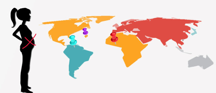 3 countries where maternity is challenging