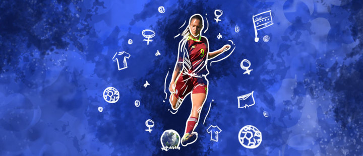 Deyna Castellanos: the Venezuelan who is taking over college football