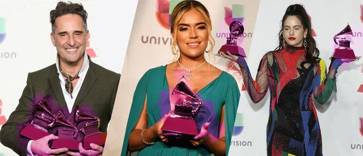 Conoce los nombres de los ganadores de los Latin Grammy