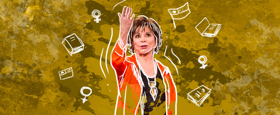 Isabel Allende: a story hunter who will catch you