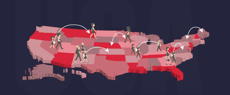 Migración interna: un fenómeno cada vez más común en EE.UU.