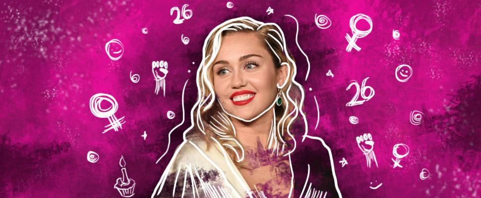 26 años con Miley Cyrus: el activismo feminista de las celebridades