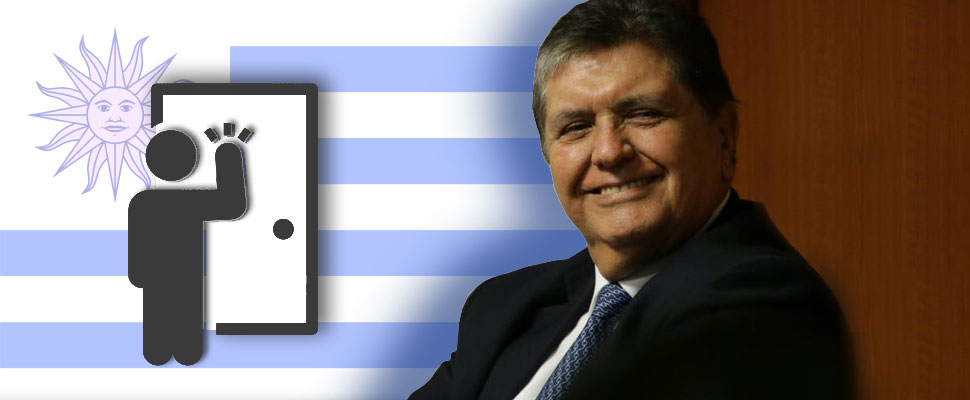 Will Uruguay give political asylum to Alan García?