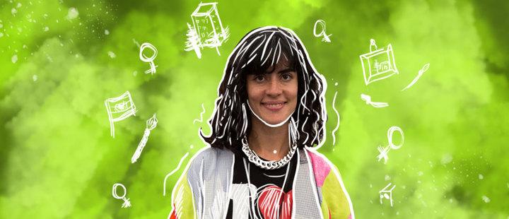 Pia Camil: la artista urbana que critica el consumismo