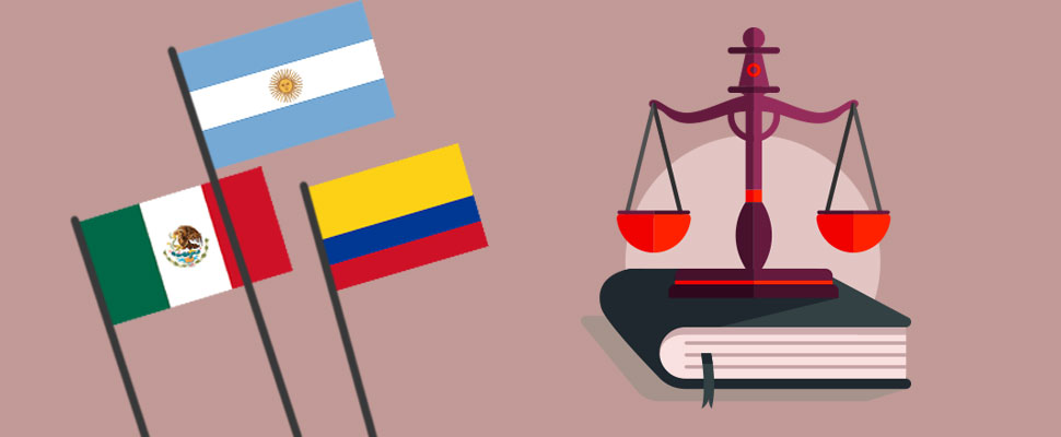 Law projects: this is the panorama in these 3 Latin American countries