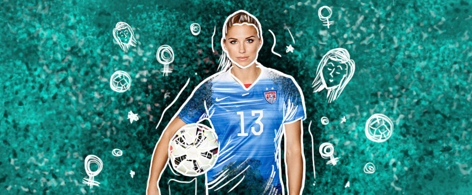 Alex Morgan: the most beautiful soccer player in the world