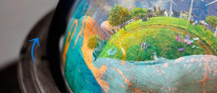 ¿Sabías que la tierra se mueve a 1.600 kilómetros por hora?