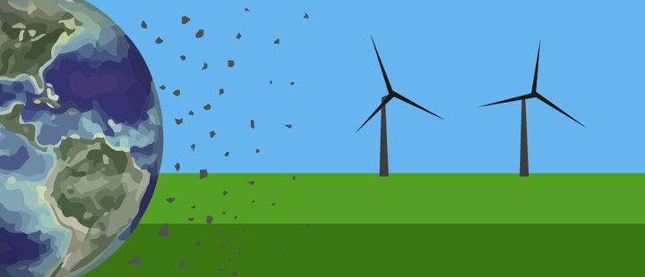 La energía renovable también daña el medio ambiente