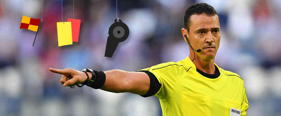 Do you think being a referee is easy? This is what it takes to become one