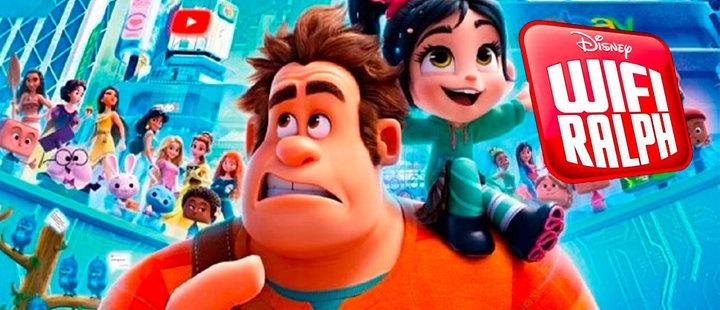 Disney muestra todo su arsenal con Wifi Ralph