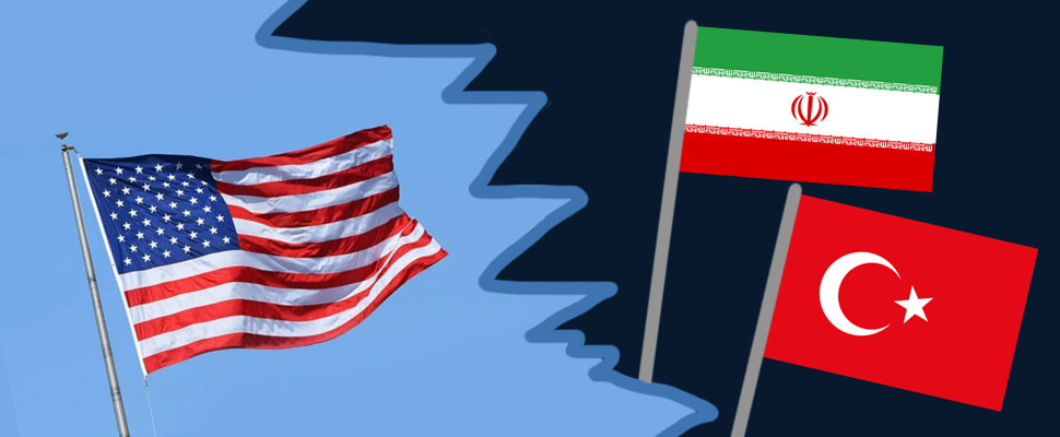 Do you know why Turkey's support for Iran can affect the United States?