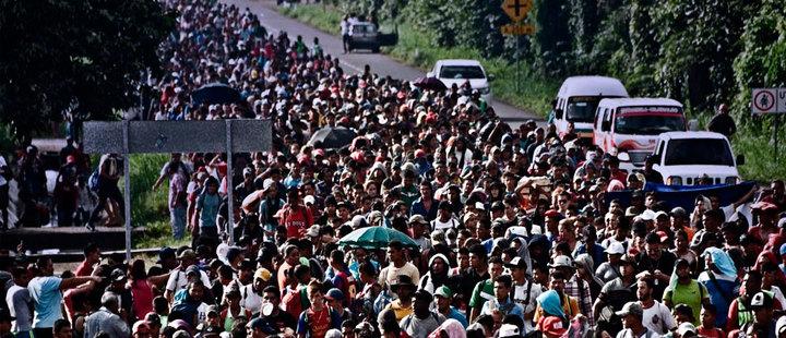 Migrants' Caravan: Tensions at the border