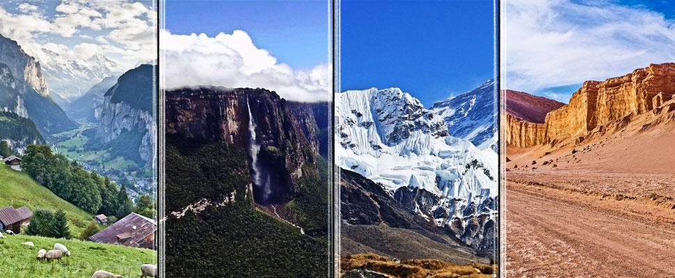 ¡Increíble! Estos son los 4 destinos naturales más extremos del mundo