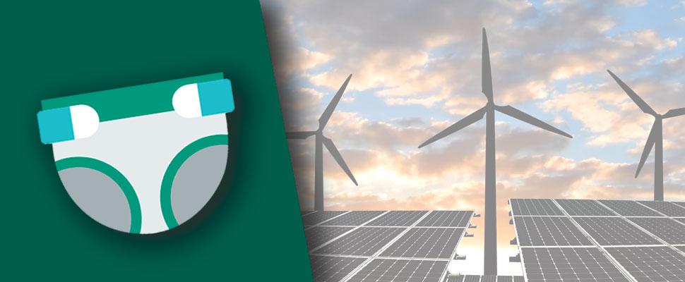 ¿Energía sostenible hecha a partir de pañales?