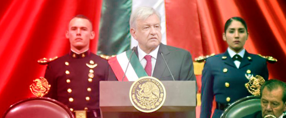 AMLO Presidential Possession: This is the Mexico that is leaving and the Mexico that arrives