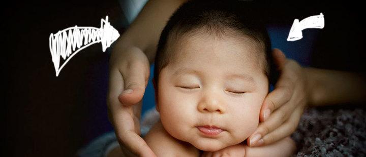 Todo lo que debes saber de la cabecita de tu bebé